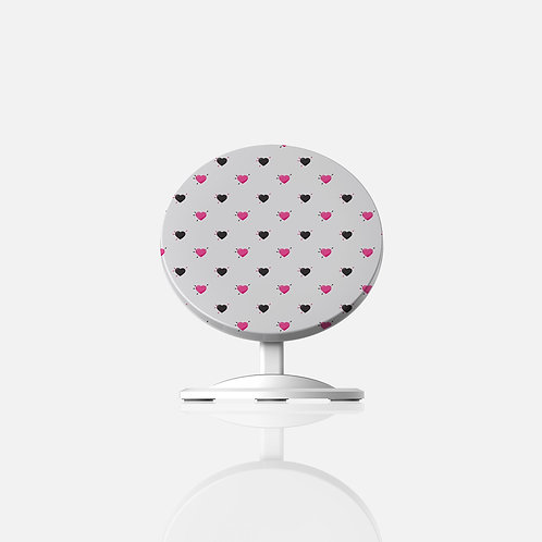 Anti-Valentines Voodoo Hearts Wireless Charger