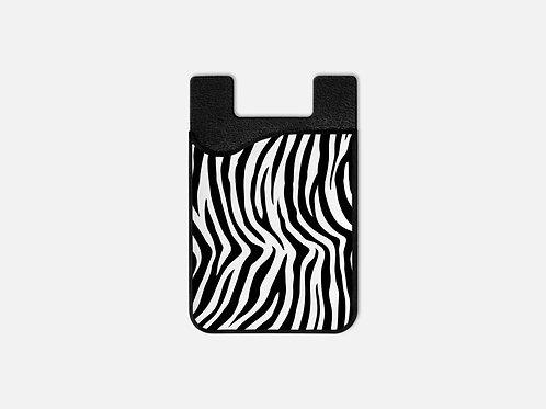 Zebra Print Card Holder