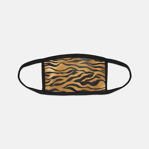 Luxury Safari Tiger Black Edge Face Cover