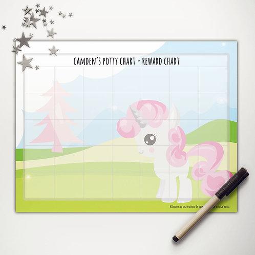 Pink Pony Basic Reward Chart