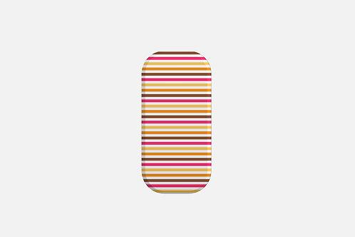 Bab Giraffe Stripes Pink Designer Clickit