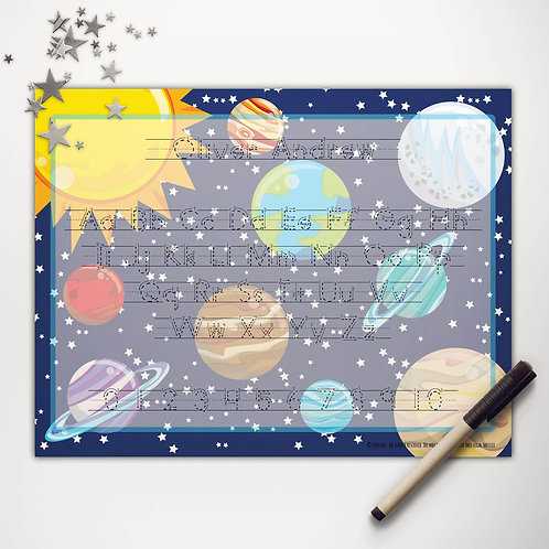 Solar System Writing Mat (print)