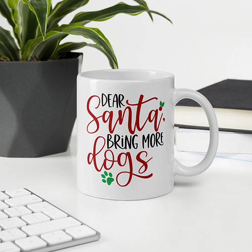 Dear Santa Bring More Dogs Winter Plus Vol. 1 Mug