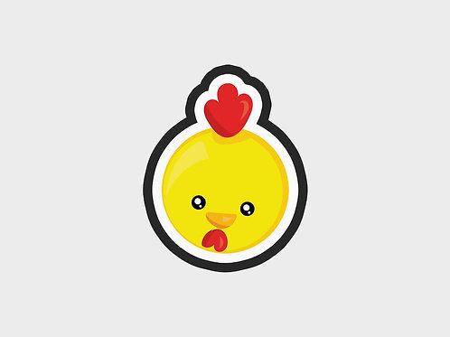 Chick Face | Animal Faces Vol. 1 Cutter