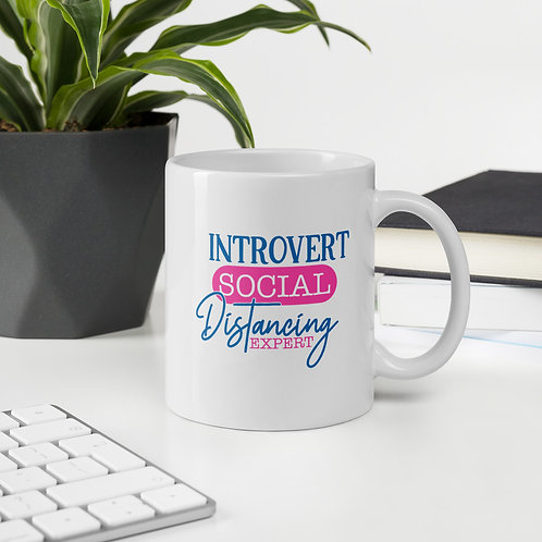Introvert Social Distancing Expert Quarantine Vol. 2 Mug