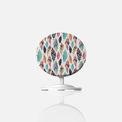 Tribal Feathers Wireless Charger