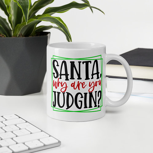 Santa Why Are You Judgin? Winter Plus Vol. 1 Mug