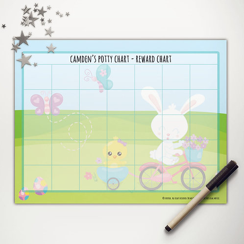 Easter Ride Basic Reward Chart