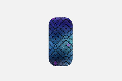 Ocean Glittered Mermaid Scales Designer Clickit
