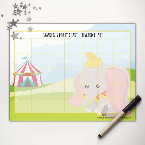 Flying Elephant Basic Reward Chart