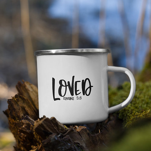 Loved Christian Word Vol. 1 Enamel Camp Mug