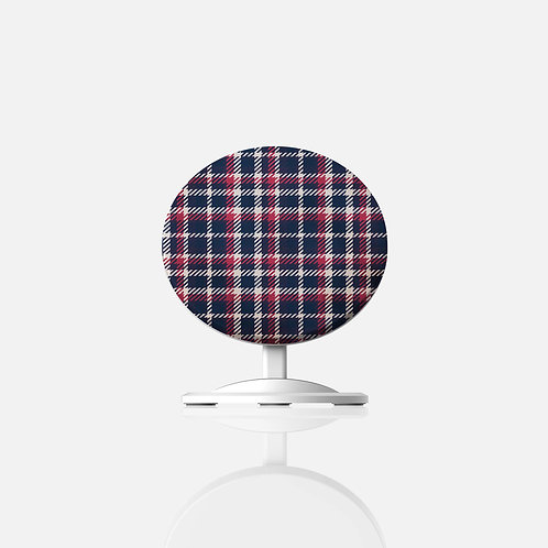 Grandpa's Plaid Wireless Charger