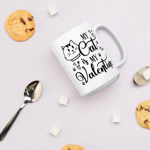 My Cat Is My Valentine Valentines DB Plus Vol. 1 Mug