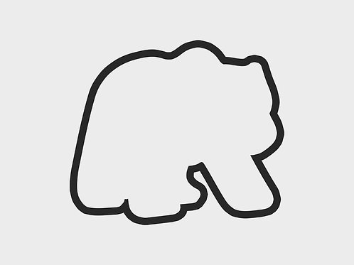 Adventure Bear Walking | Adventure Bear Cabin Vol. 1 Cutter