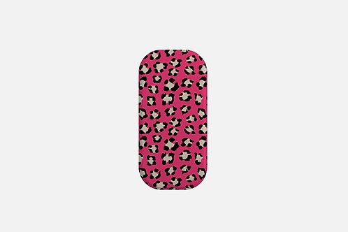 Valentine Dark Pink Leopard Print Designer Clickit