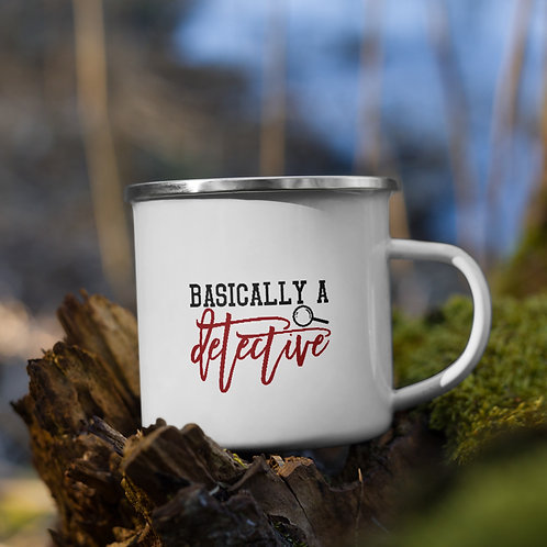 Basically A Detective True Crime Vol. 1 Camp Mug