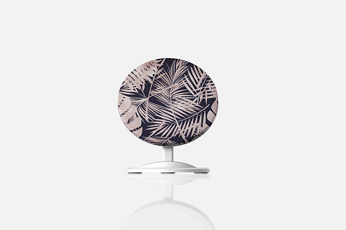 Rose Gold Tropical Leaves Wireless Charger