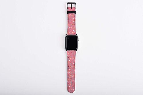 Yummy Sprinkles Strawberry Apple Watch Band