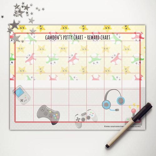 Little Gamer Basic Reward Chart