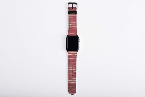 Cupid's Blush Vintage Apple Watch Band