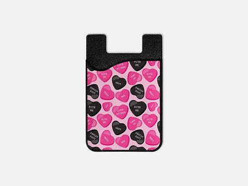 Anti-Valentines Sweetish Hearts Card Holder