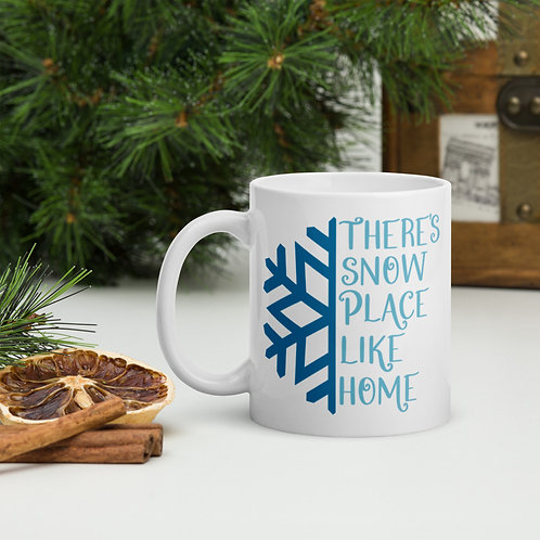 There's Snow Place Like Home Winter Plus Vol. 1 Mug