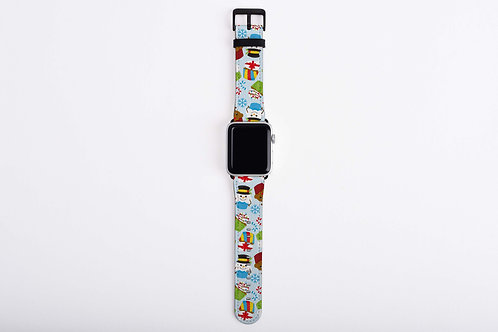 Christmas Cupcakes Apple Watch Band
