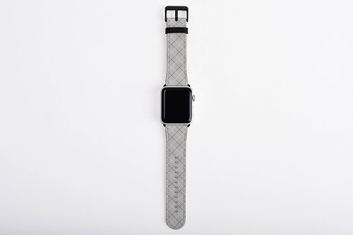 Valentine Gnomes Plaid Designer Apple Watch Band