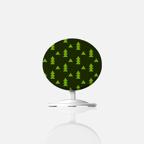 Christmas Elves Trees Wireless Charger