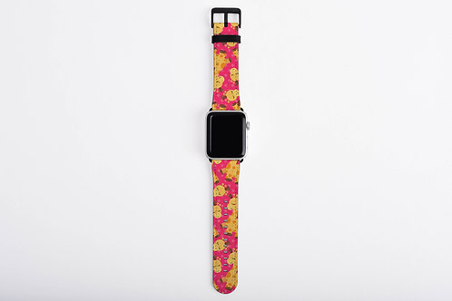 Bab Giraffe Pinkish Designer Apple Watch Band