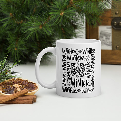Winter Typography Winter Plus Vol. 1 Mug