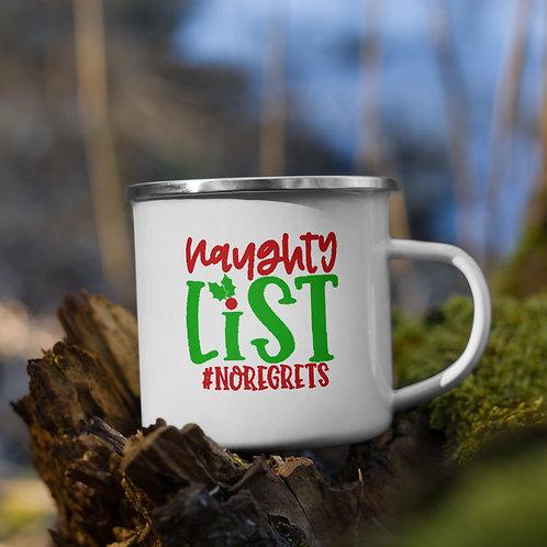 Naughty List #NoRegrets Winter Plus Vol. 1 Camp Mug