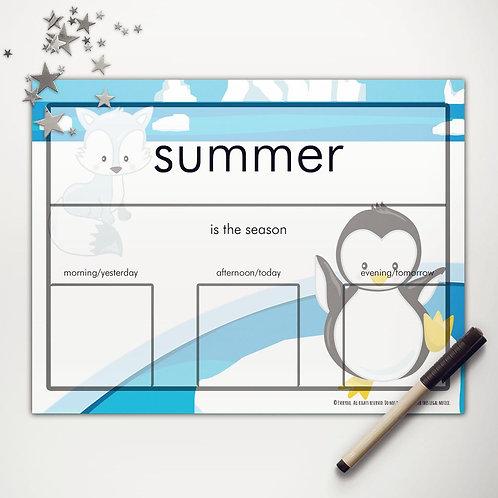Arctic Friends Basic Weather Chart
