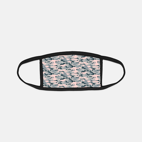 Camouflage Ori. Blush Black Edge Face Cover