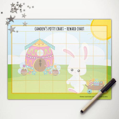 Easter Bunny Wagon Basic Reward Charts