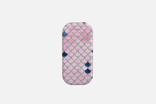 Blush + Navy Heavenly Mermaid Scales Designer Clickit