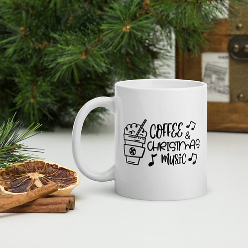 Coffee & Christmas Music Winter Plus Vol. 1 Mug