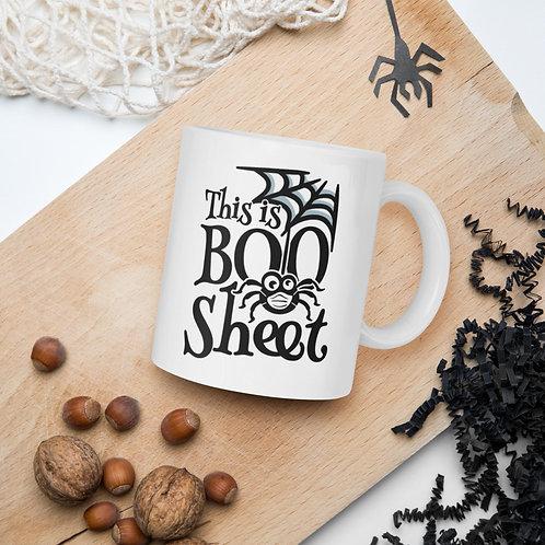 Spider Mask Web This is Boo Sheet Ghost Boo Sheet Vol. 1 Mug