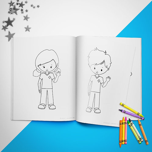Medical Coloring Book Pages