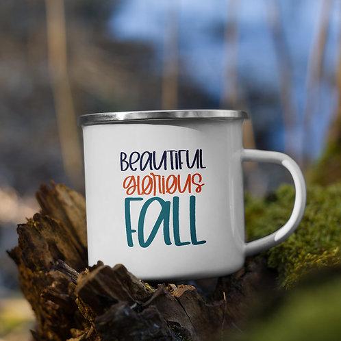 Beautiful Glorious Fall Fall Vol. 5 Enamel Camp Mug