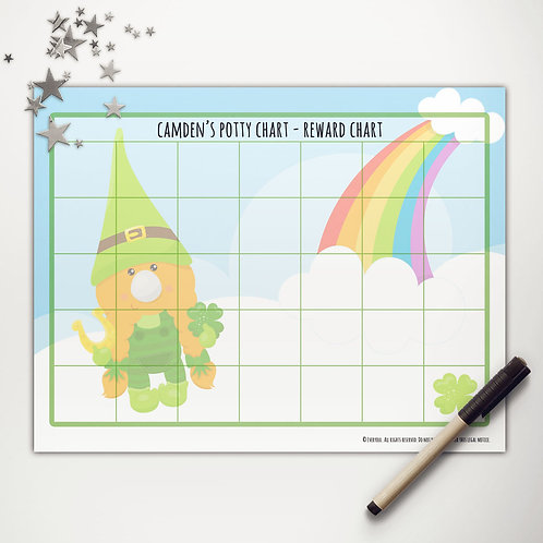 Good Luck Gnome Basic Reward Chart