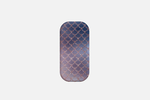 Blush + Navy Ombre Mermaid Scales Designer Clickit