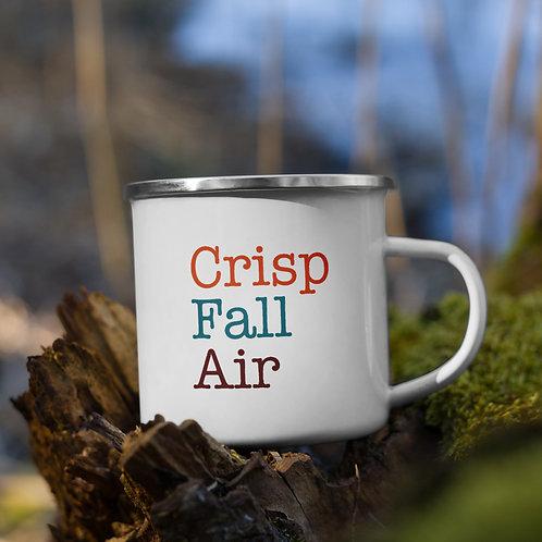 Crisp Fall Air Fall Vol. 5 Enamel Camp Mug