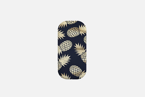 Navy + Gold Pineapples Designer Clickit