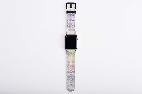 Holo Plaid Pastels Apple Watch Band