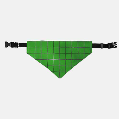 Lucky Tiled St. Patrick Pet Bandana Collar