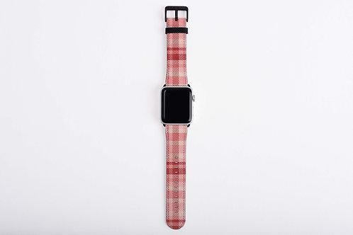 Valentine Flannel Eternity Apple Watch Band