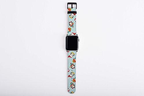 Christmas Penguins Apple Watch Band