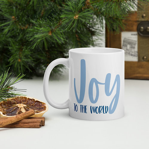 Joy To The World Christmas Blue Vol. 5 Mug
