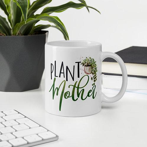 Plant Mother Watercolor Ceramic Mug